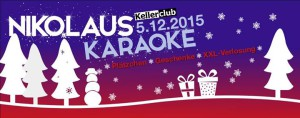 Cover image for EME event 'Nikolauskaraoke'
