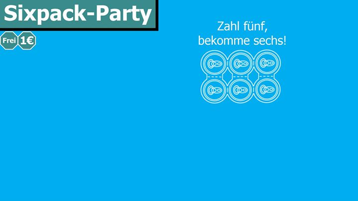 Sixpack-Party