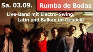 Cover image for EME event 'Konzert: Rumba de Bodas'