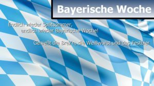 Cover image for EME event 'Bayerische Woche'