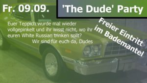Cover image for EME event 'The Dude Party'