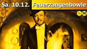 Cover image for EME event 'Die Feuerzangenbowle'